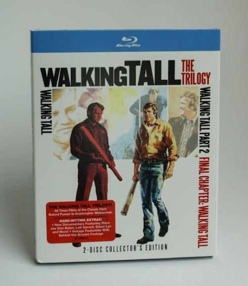 """""""Walking Tall"""" Trilogy BluRay"""