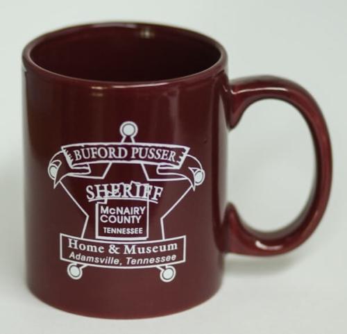 Sheriff Buford Pusser Mug Maroon