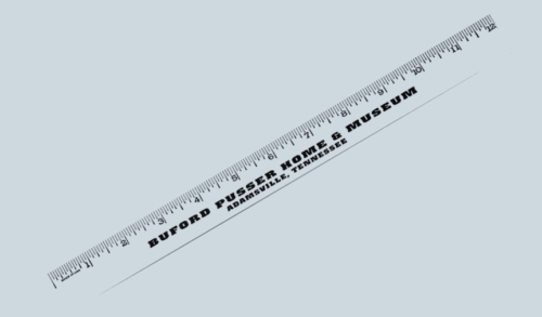 Ruler with Buford Pusser name