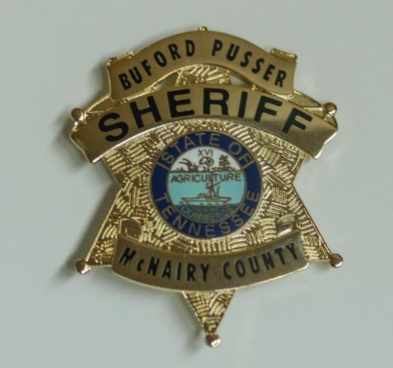 Replica Badge - Sheriff, McNairy County