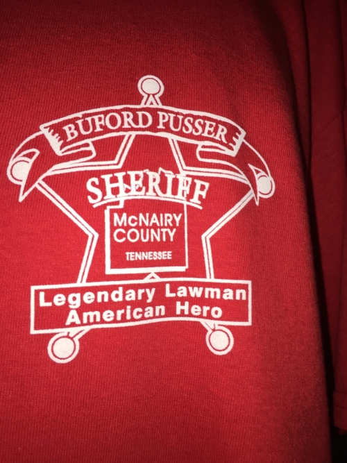 T Shirt Legendary Lawman Front