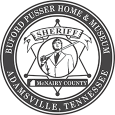 Sheriff Buford Pusser Museum Logo