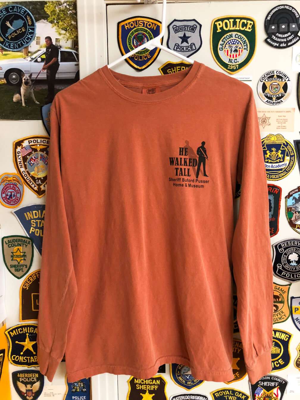 cf3e3b1c2ea0 He Walked Tall – What's Right is Right – T-Shirt Short Yam – Sheriff Buford  Pusser Museum