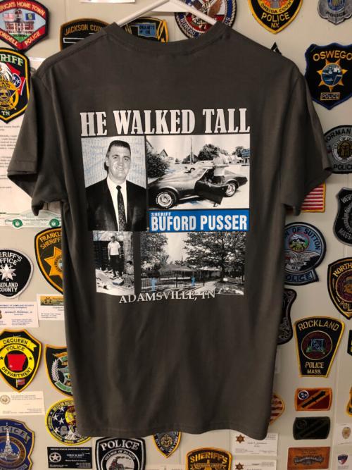 e615fade1927 Shirt – Walking Tall – Long Sleeve – Sheriff Buford Pusser Museum
